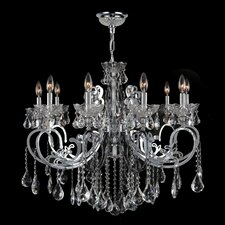 Kronos 10 Light Crystal Chandelier