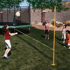 Trampoline Enclosure Volleyball Net Attachment