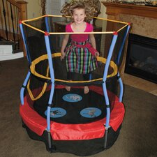 "Zoo Adventure Bouncer 48"" Trampoline with Enclosure"
