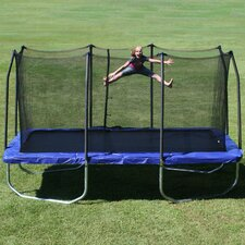 15' Rectangular Trampoline with Safety Enclosure