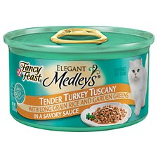 Elegant Medley Turkey Tuscany Cat Food (Case of 24)