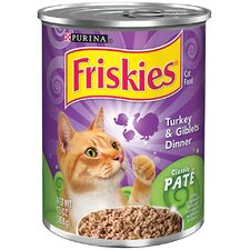 Classic Pate Turkey and Giblets Dinner Cat Foods