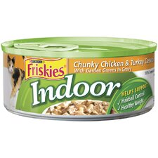 Indoor Chicken and Turkey Wet Cat Food (5.5-oz can, case of 24)