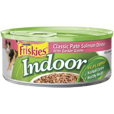 Indoor Salmon Entree Wet Cat Food (5.5-oz can, case of 24)