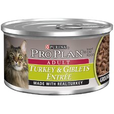 Adult Turkey and Giblets Entrée Cat Food (3-oz, case of 24)