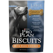 Adult Biscuits and Large Breed Chicken Dog Treat (Case of 8)