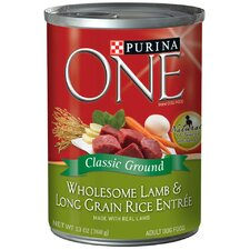 Wholesome Lamb / Long Grain Rice Wet Dog Food (13-oz, case of 12)
