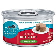 Smartblend Premium Pate Classic Beef Wet Cat Food (3-oz, case of 24)