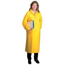 "Raincoats - 48"" raincoat pvcover polyester medium"