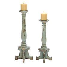 Contemporary Candle Holder (Set of 2)