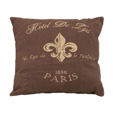 Paris Hotel Theme Pillow