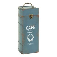 Paris Cafe Portable Wine Bottle Case