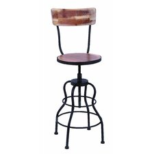 Old Look Wood Bar Chair