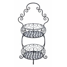 Two Tier Treat Basket Stand