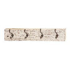 Eye Catching Rustic Wood Wall Metal Hook