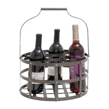 7 Bottle Hanging Wine Rack
