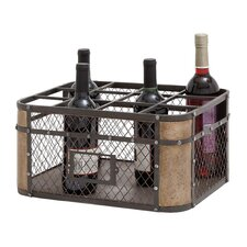 12 Bottle Tabletop Wine Rack
