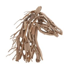 Wooden Horse Décor