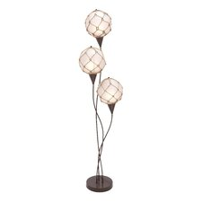 Metallic Rope Floor Lamp