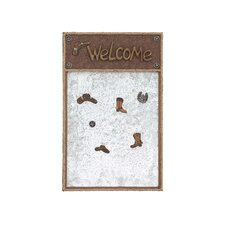American Cowboy Themed Wooden Note Board