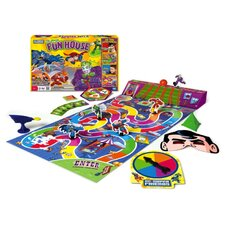 WB Super Friends Joker's Fun House Game