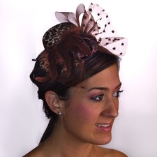 Leopard Mini Top Hat