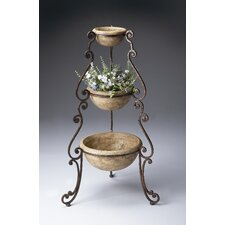 Metalworks Round Planter