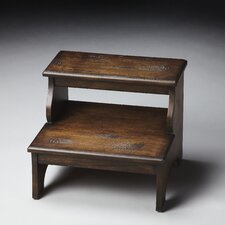 Masterpiece Step Stool in Distressed Praline