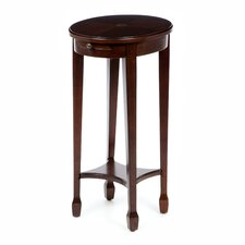 Plantation Cherry Round Accent Table