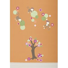Miss Monkey Wall Decals