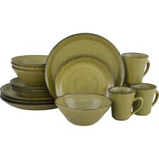 Comet 16 Piece Dinnerware Set