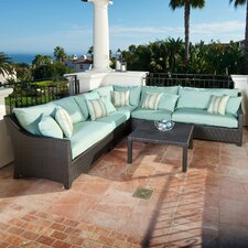 Bliss 6 Piece Deep Seating Group with Cushions
