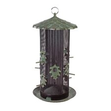 Belle Fleur Oak Leaf Dual Screen Bird Feeder