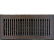 "7.5"" x 15.5"" Flat Vent with Damper"