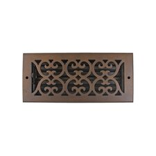 "5.5"" x 11.5"" Scroll Vent with Damper"