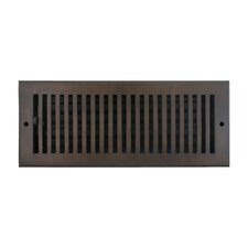 "5.5"" x 13.5"" Flat Vent with Damper"
