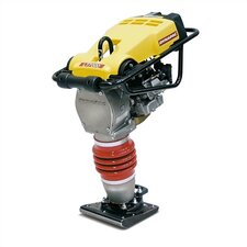 "11"" x 13"" Vibratory Rammer for Soil w/ Honda GX120, 4.0 HP Gas Powered Engine"