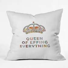 Bianca Green Her Daily Motivation Woven Polyester Throw Pillow