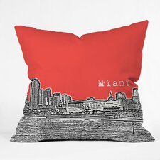 Bird Ave Miami Indoor/Outdoor Polyester Throw Pillow