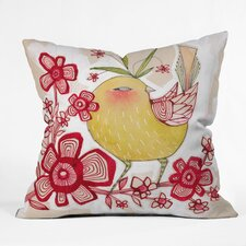 Cori Dantini Sweetie Pie Woven Polyester Throw Pillow