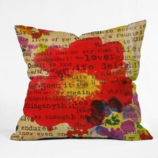 Irena Orlov Poppy Poetry 2 Throw Pillow