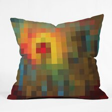 Madart Inc Glorious Colors Indoor / Outdoor Polyester Throw Pillow