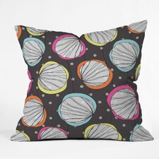 Rachael Taylor Scribble Shells Indoor / Outdoor Polyester Throw Pillow