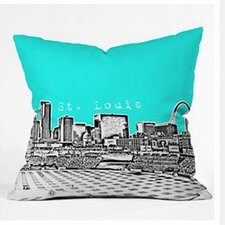 Bird Ave St Louis Woven Polyester Throw Pillow