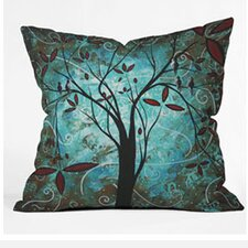 Madart Inc. Romantic Evening Woven Polyester Throw Pillow