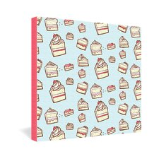 Jennifer Denty Cake Slices Gallery Wrapped Canvas