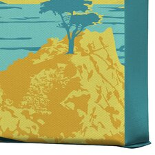 Anderson Design Group Coastal California Gallery Wrapped Canvas