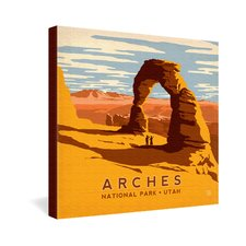 Anderson Design Group Arches Gallery Wrapped Canvas