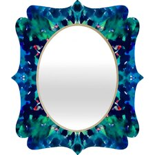 Amy Sia Water Dream Quatrefoil Mirror