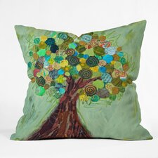 Elizabeth St Hilaire Nelson Spring Tree Polyester Throw Pillow